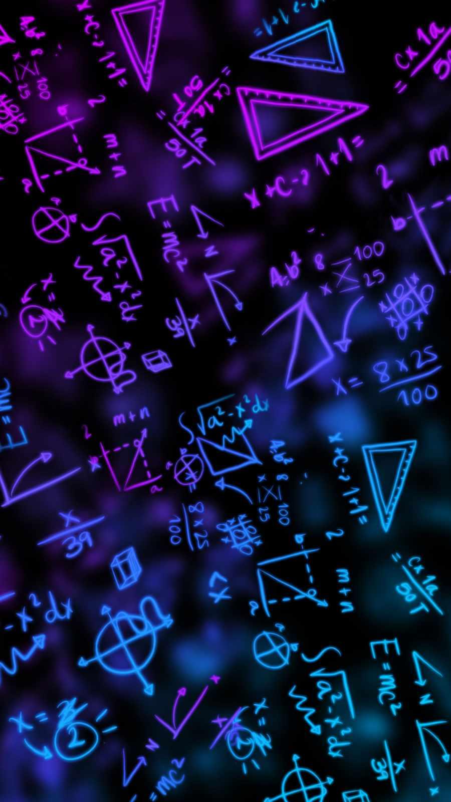 Mathamatics iPhone Wallpaper