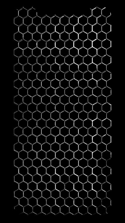Metal Mesh iPhone Wallpaper