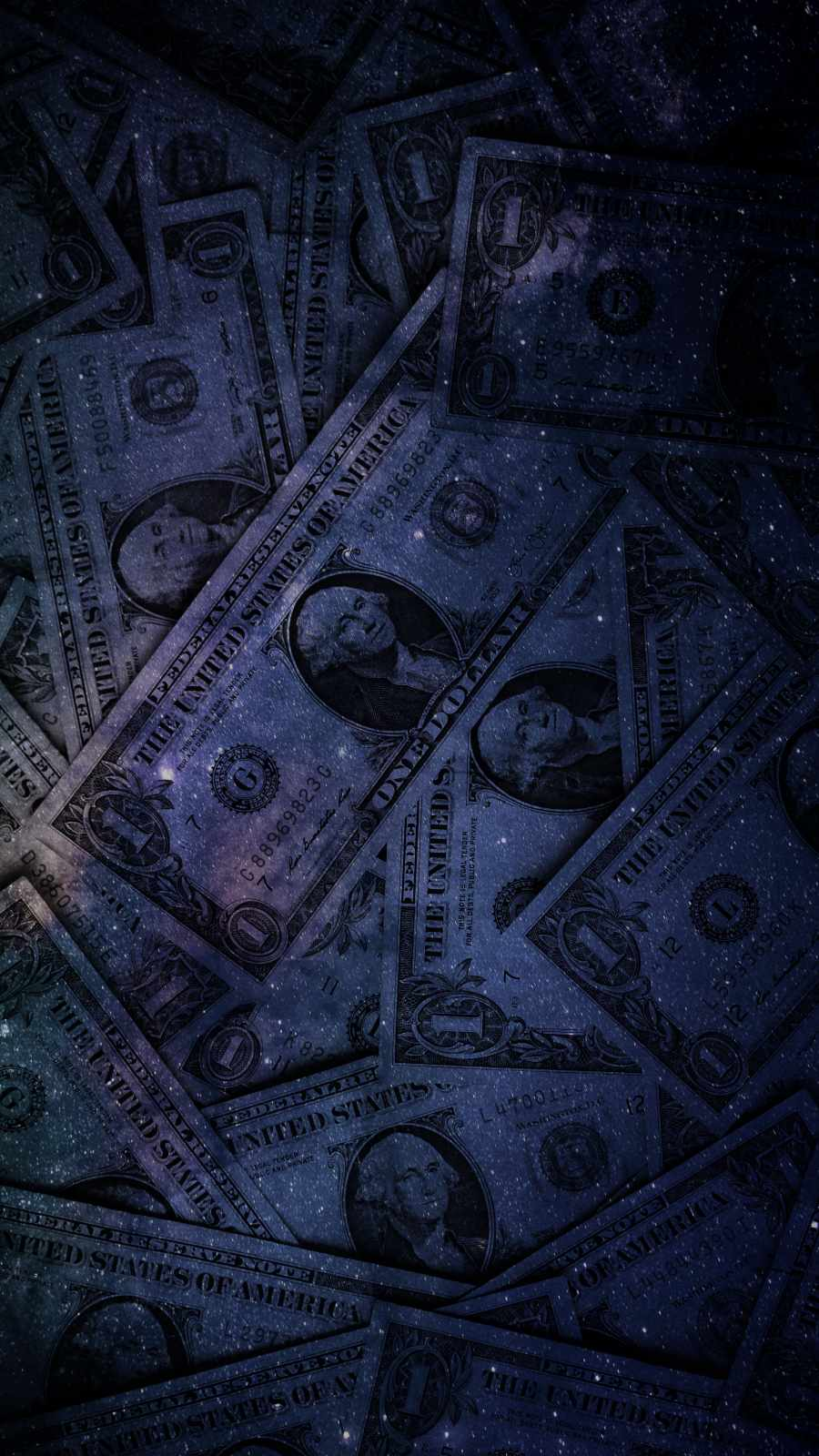 Money Art iPhone Wallpaper