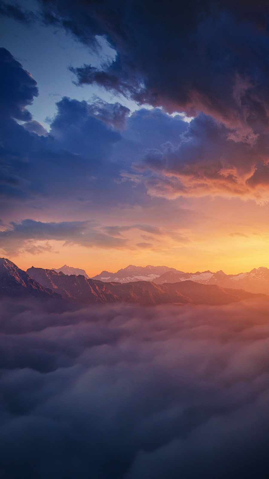 Mountains from Clouds