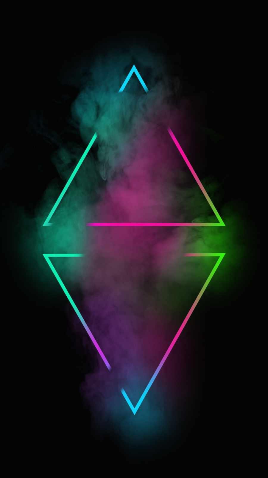 Neon Rhombus Smoke