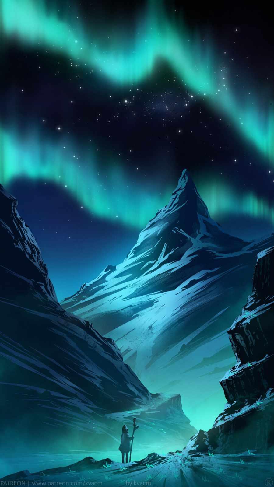 North Peak iPhone Wallpaper