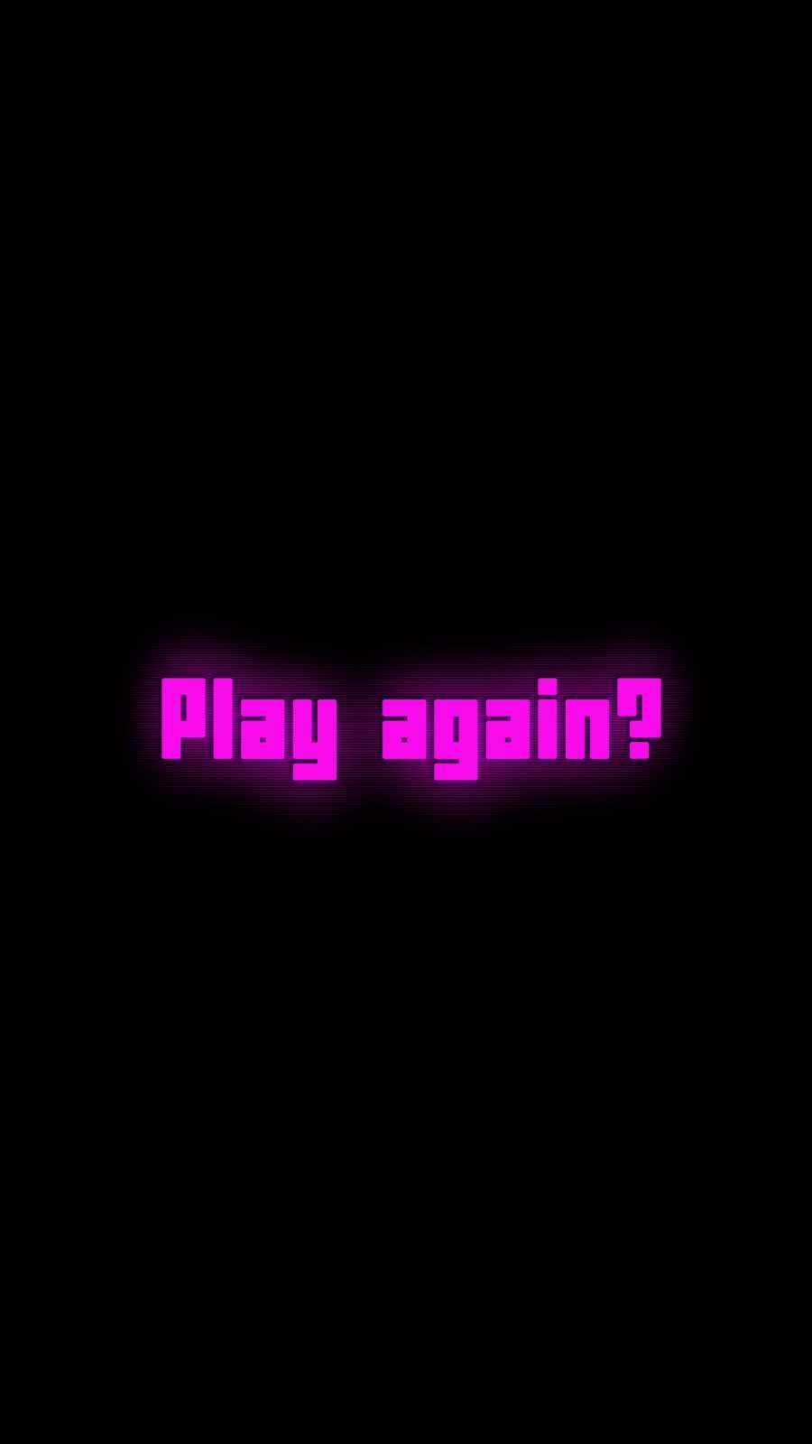 Play Again iPhone Wallpaper