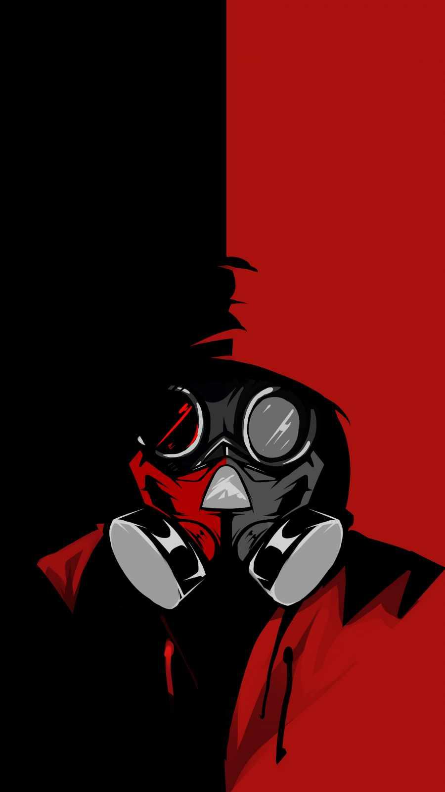 Radiation Mask Hoodie Guy