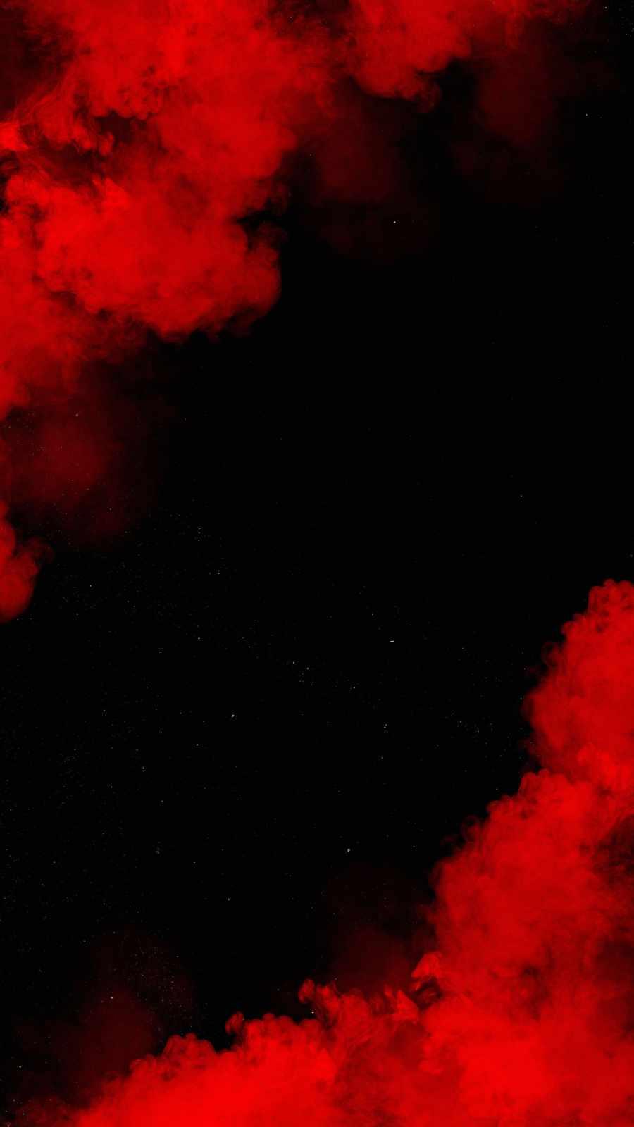Red Smoke iPhone Wallpaper