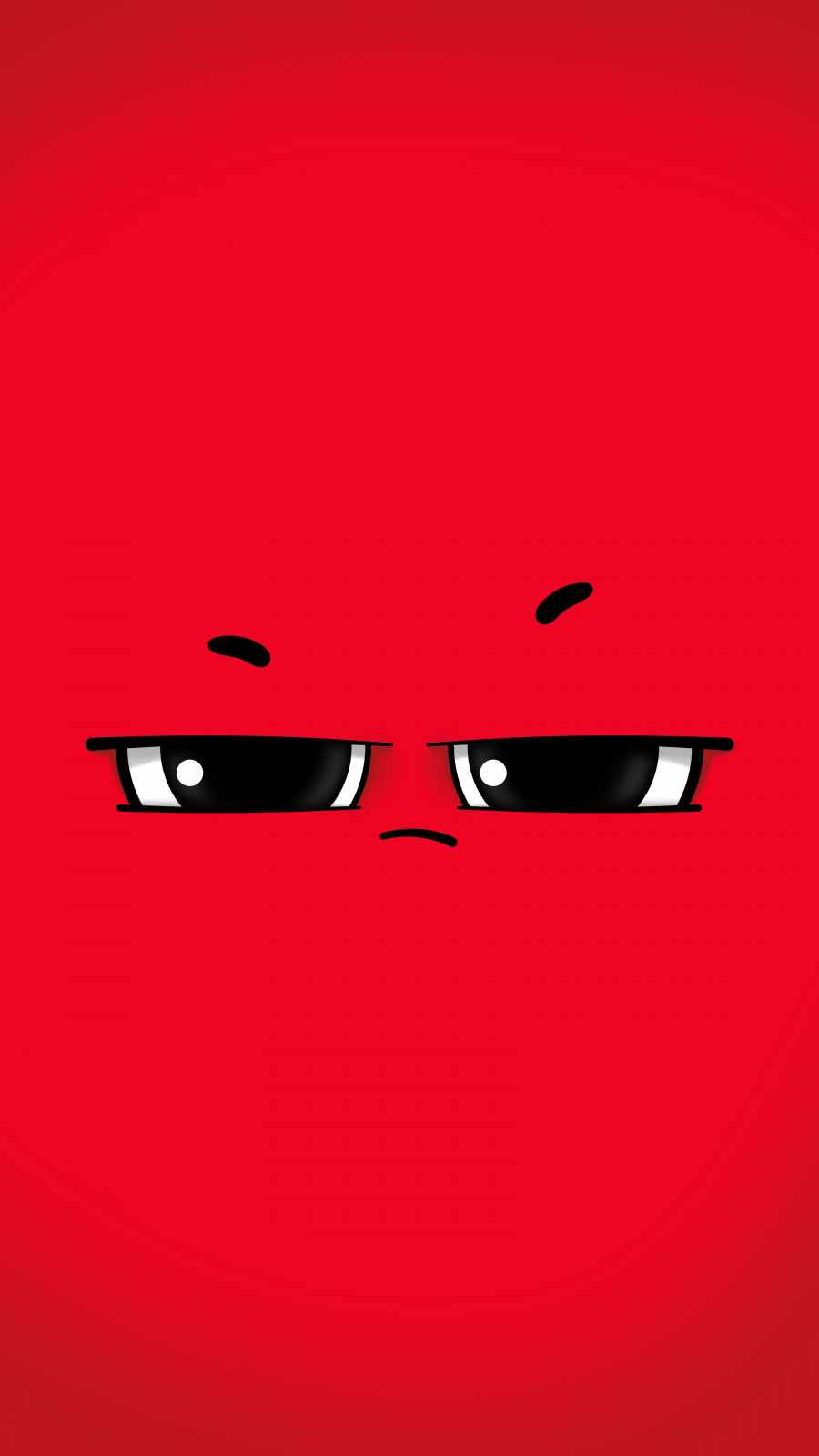 Rude Face iPhone Wallpaper