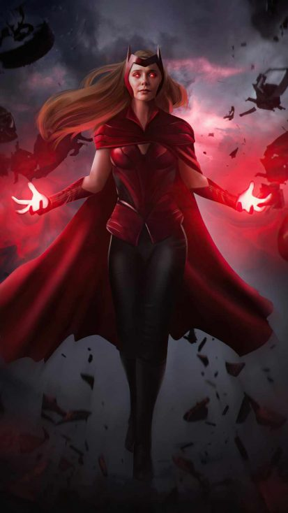 Scarlet Witch Wanda Vision