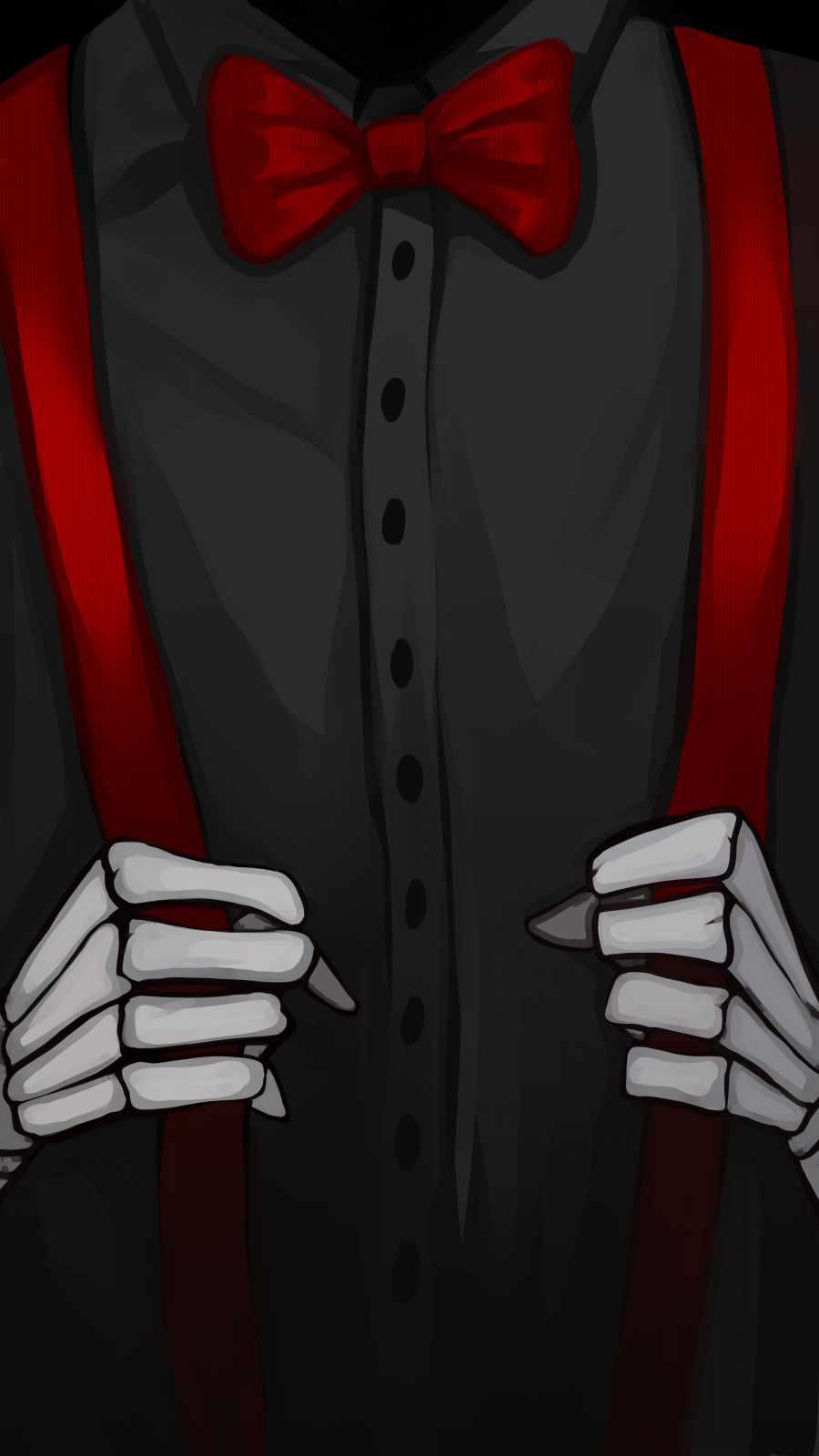 Skeleton Guy iPhone Wallpaper