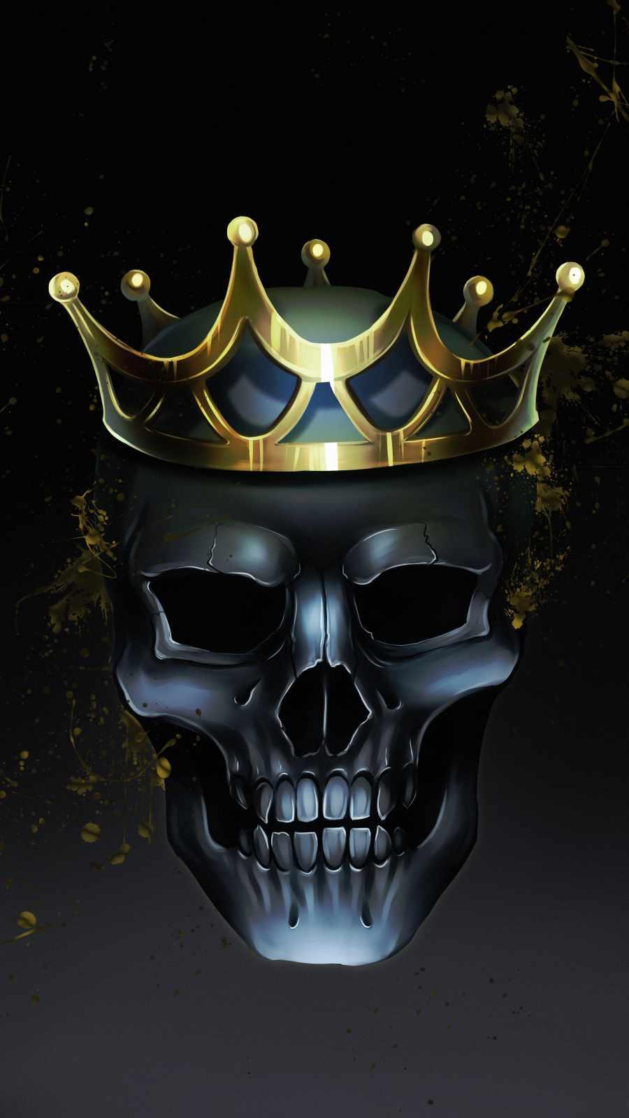 Skull King Crown
