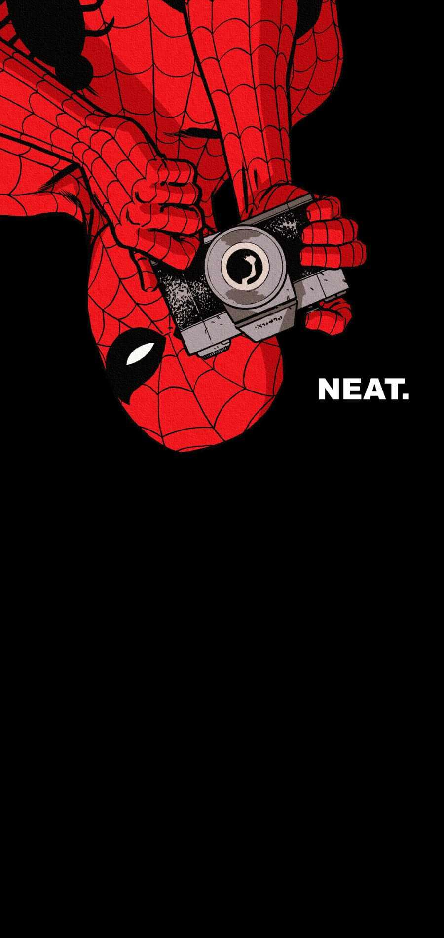 Spiderman Click iPhone Wallpaper