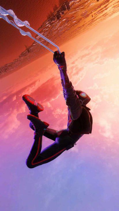 Spiderman Miles Morales Jump
