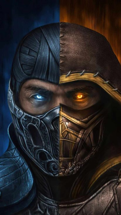 Sub zero x scorpion mortalkombat movie