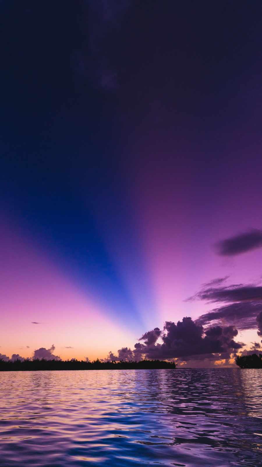 Sunset Sky Color Horizon