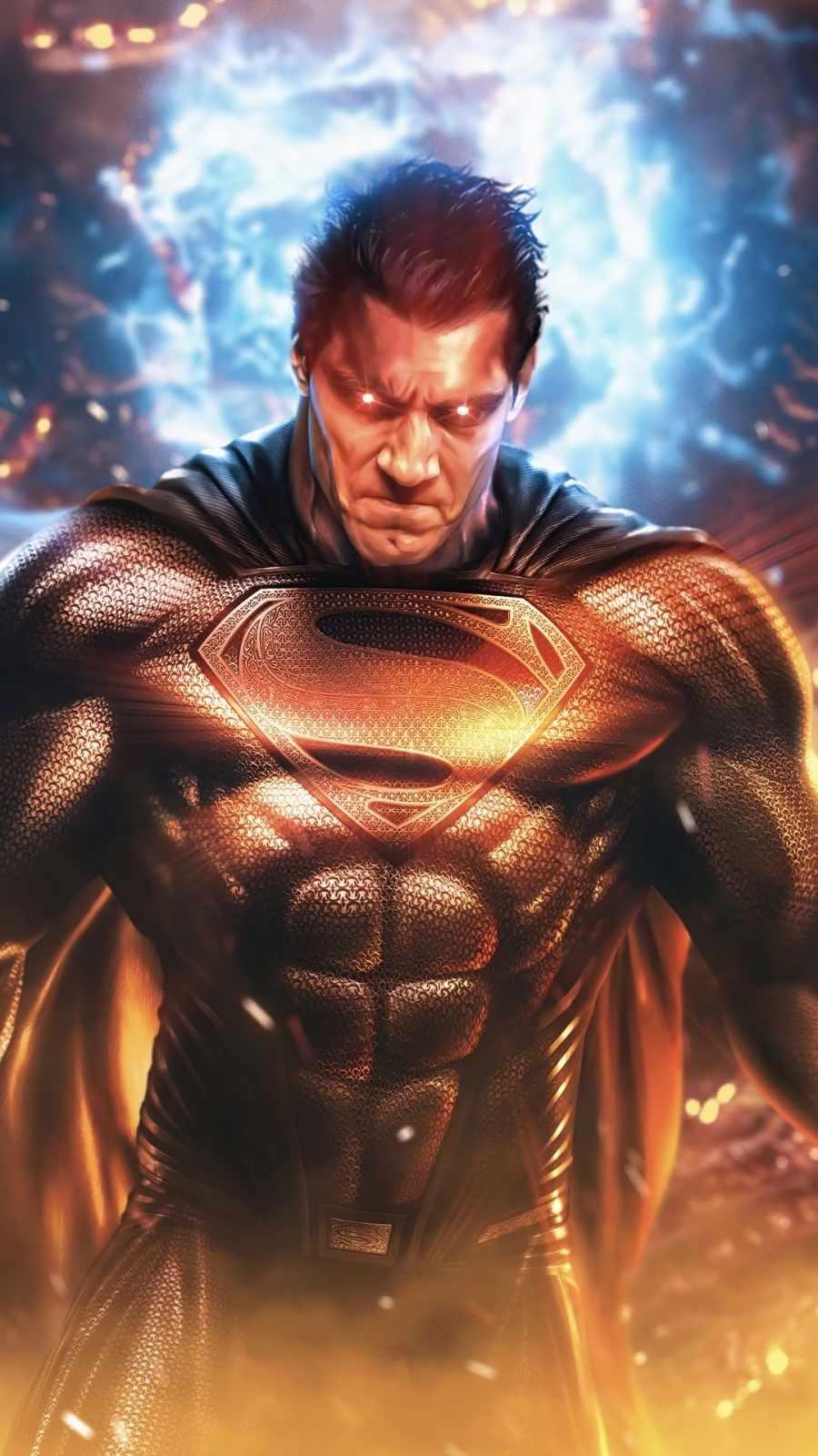Superman the man of tomorrow Black Suit