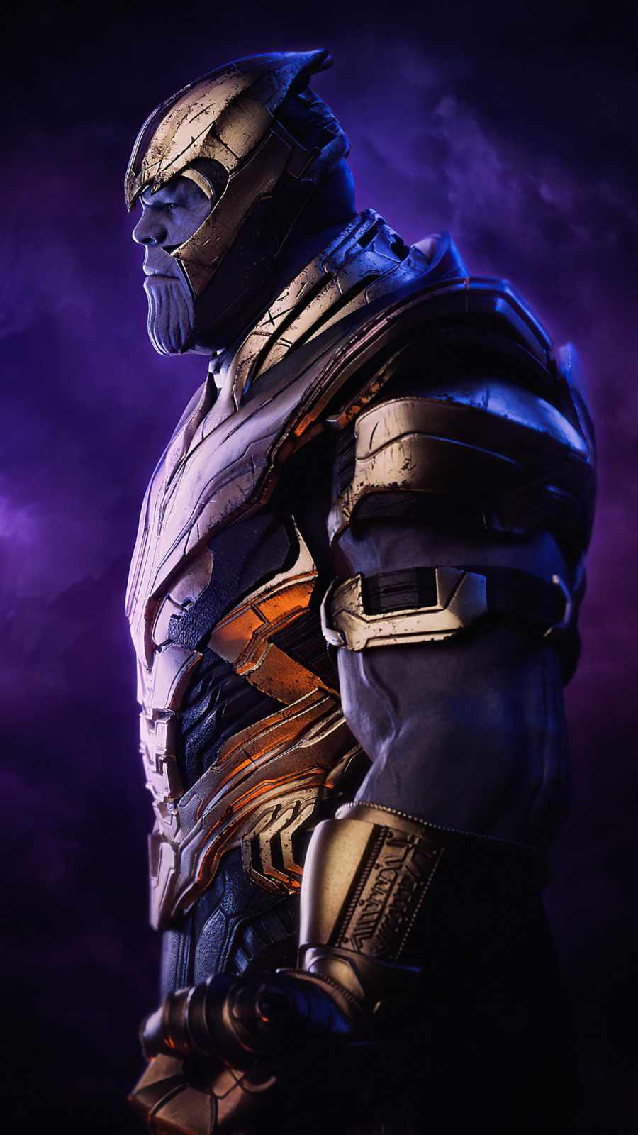 Thanos Side iPhone Wallpaper