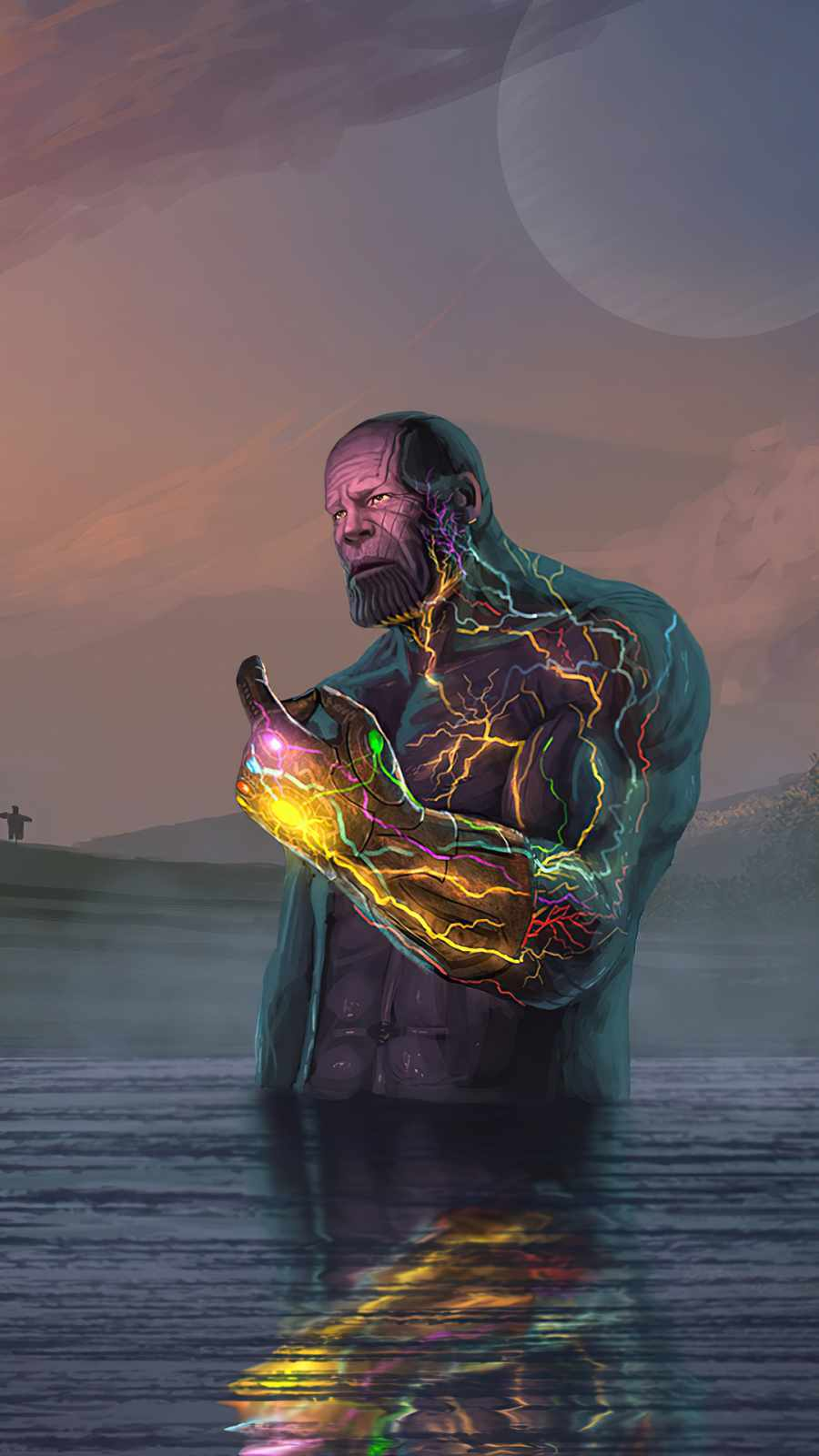 Thanos infinity Stone Snap