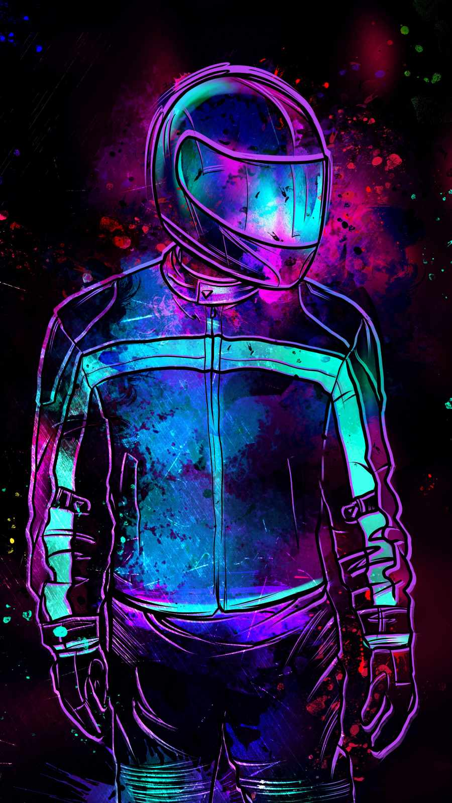 The Rider iPhone Wallpaper
