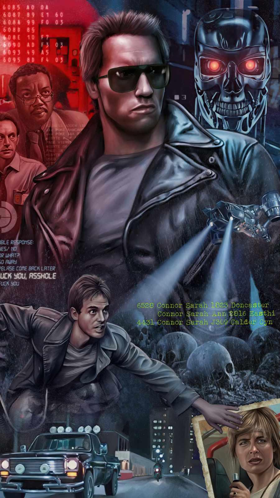 The Terminator 1984 Movie Poster