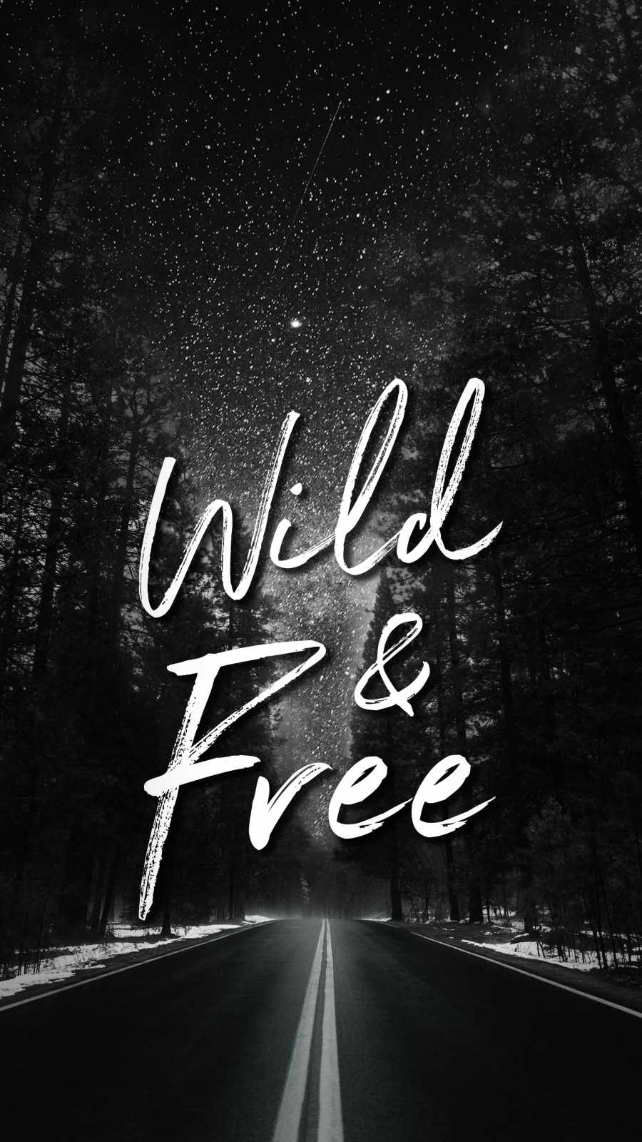 Wild and Free iPhone Wallpaper