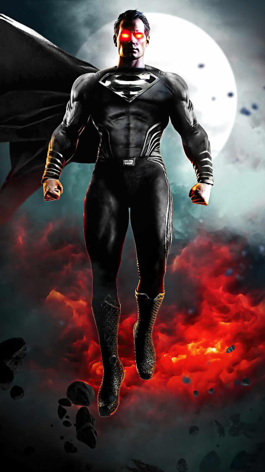 Zack synder justice league black suit superman