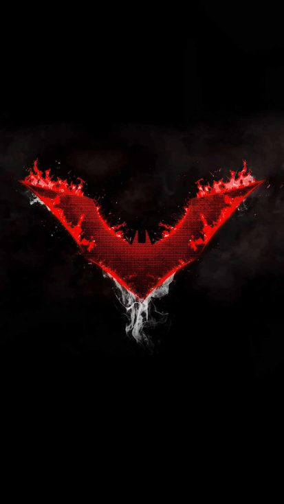 Batman Beyond Logo Dark