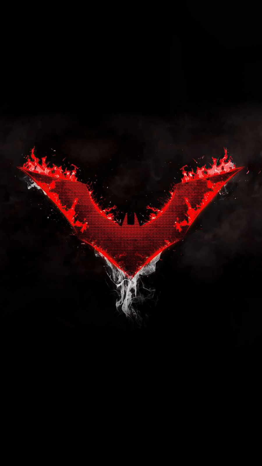 Batman Beyond Logo Dark