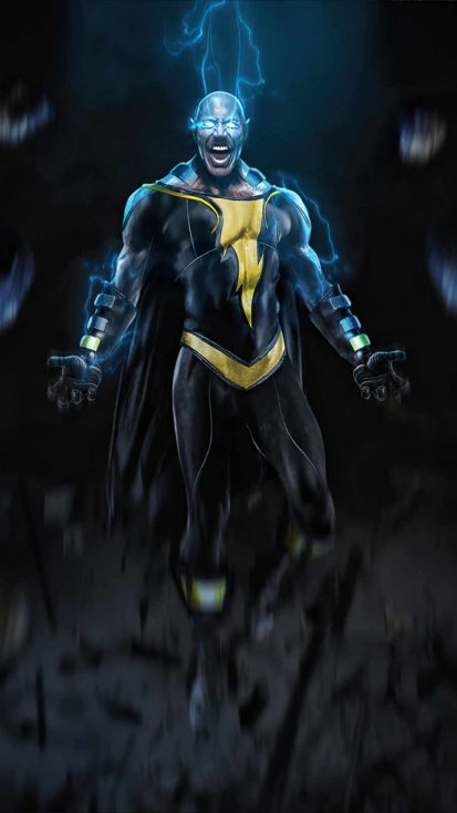 Black Adam Beast iPhone Wallpaper