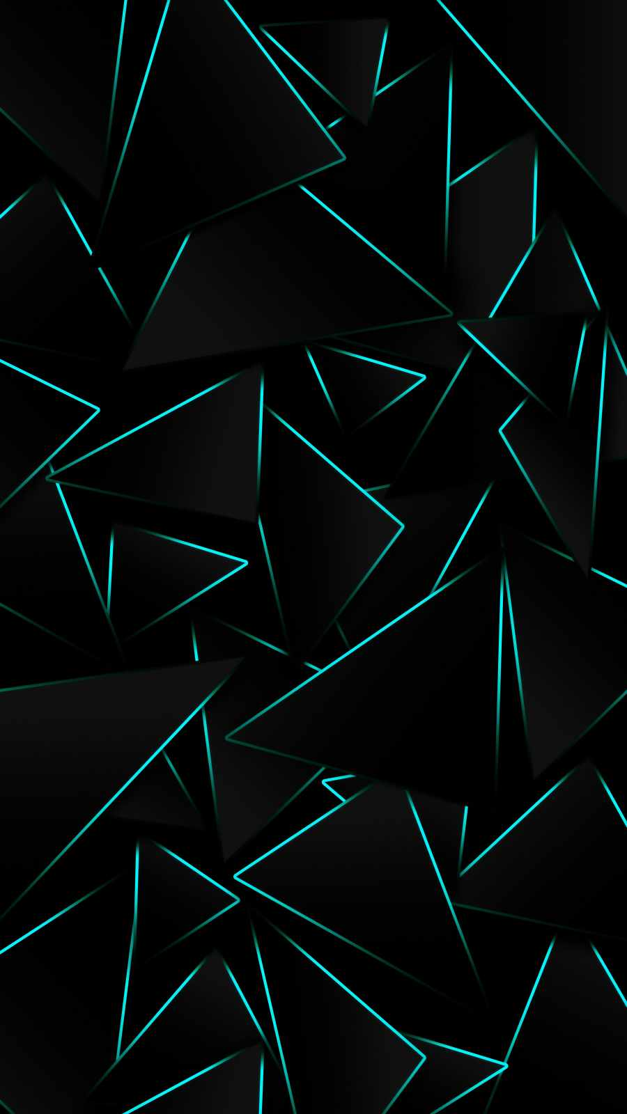 Black Design iPhone Wallpaper