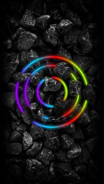 Black Stones RGB Neon