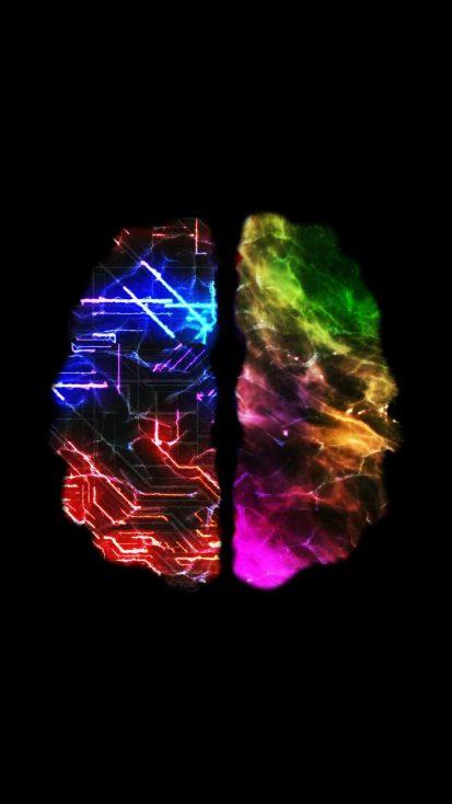 Brain Activity iPhone Wallpaper