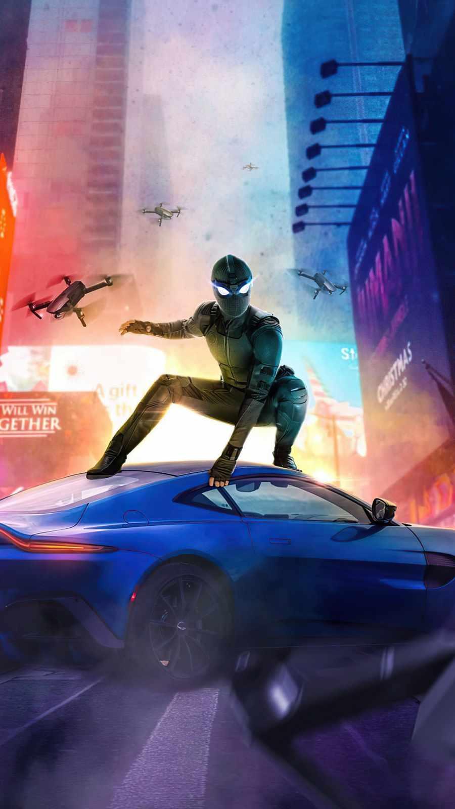 Chasing Spiderman
