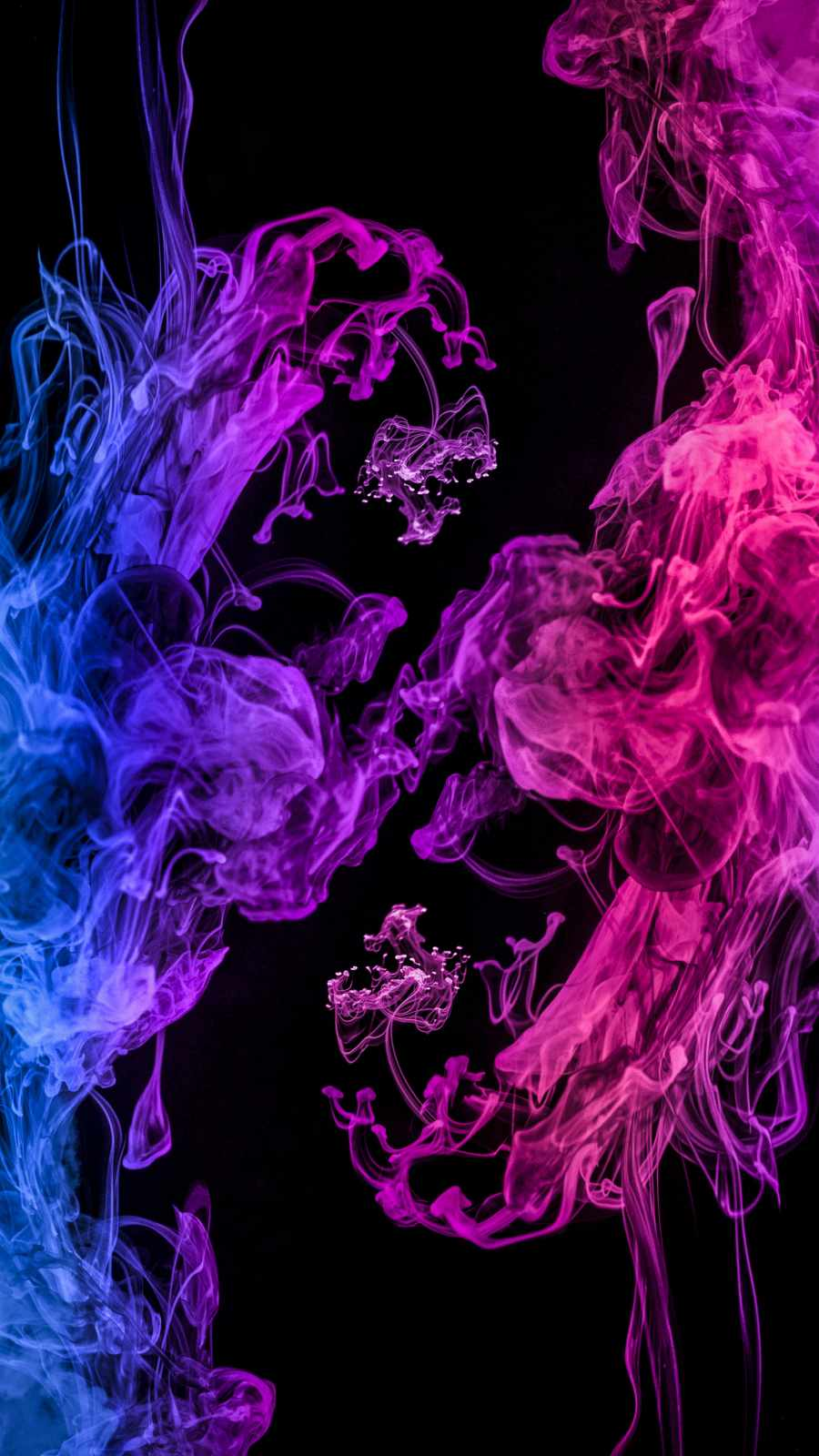 Color Smoke iPhone Wallpaper