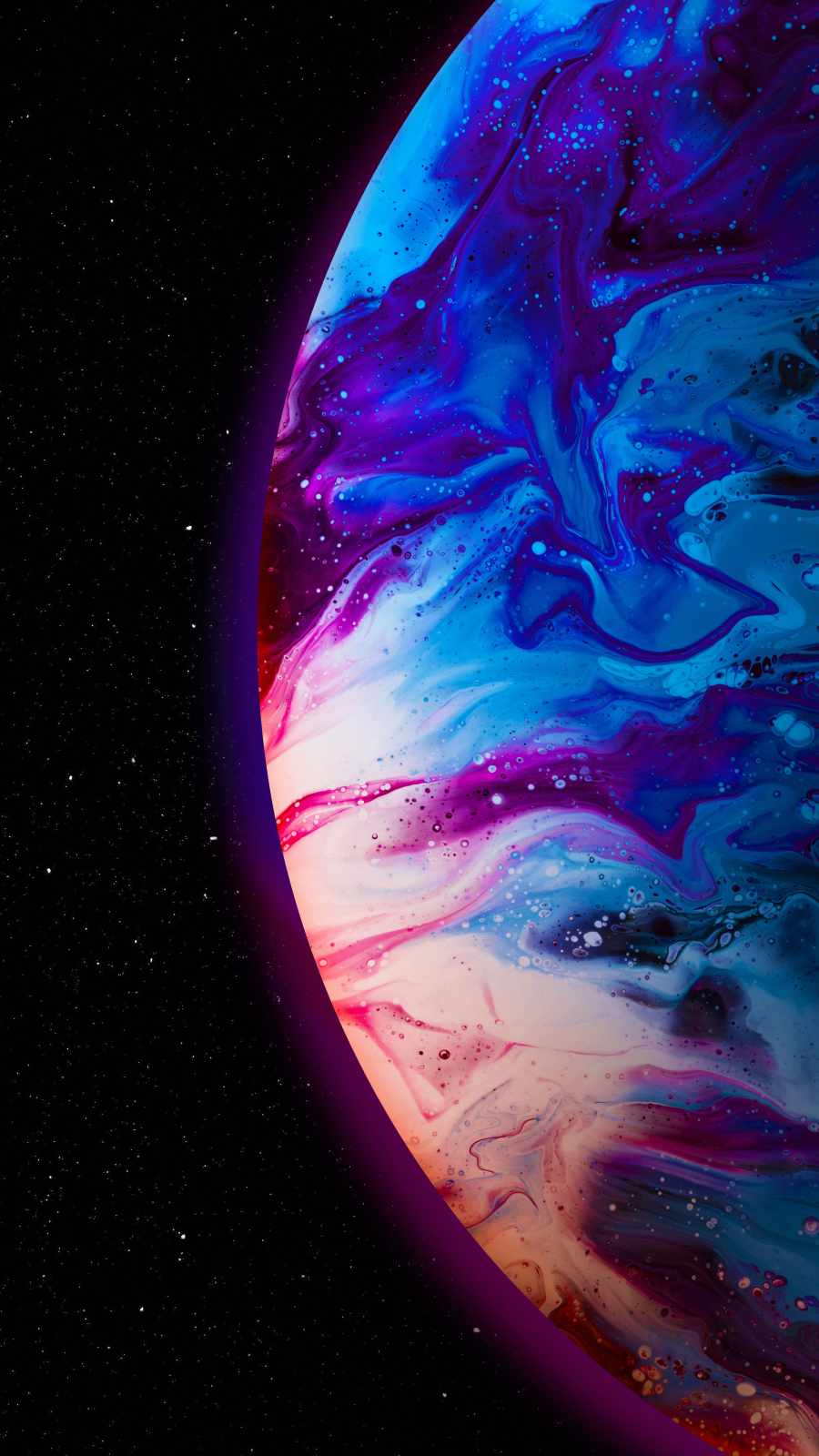 Deep Space Hydrogen Planet
