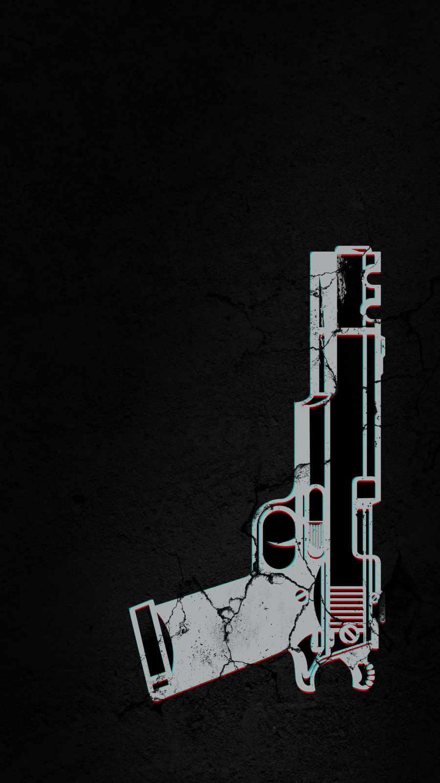 Desert Eagle Gun iPhone Wallpaper
