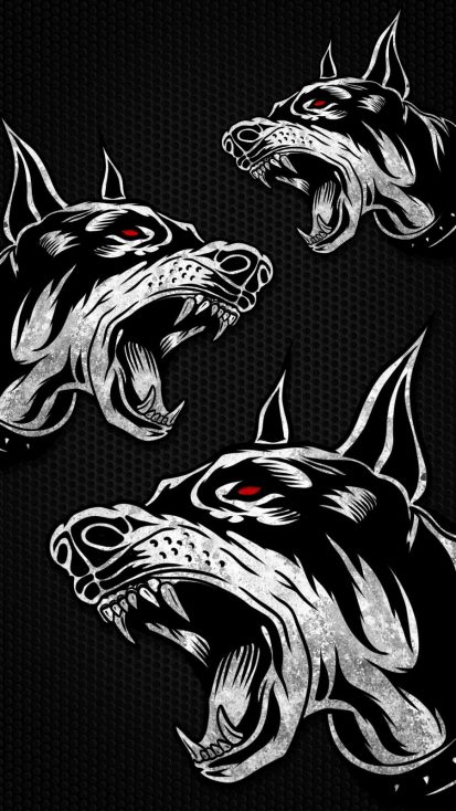 Dobermann iPhone Wallpaper