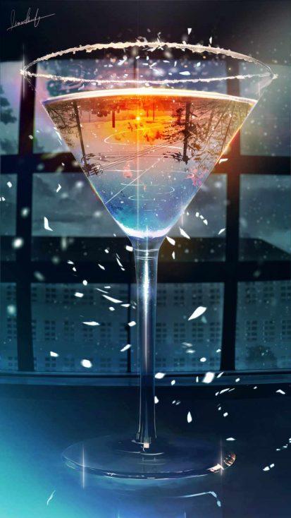 Glass iPhone Wallpaper