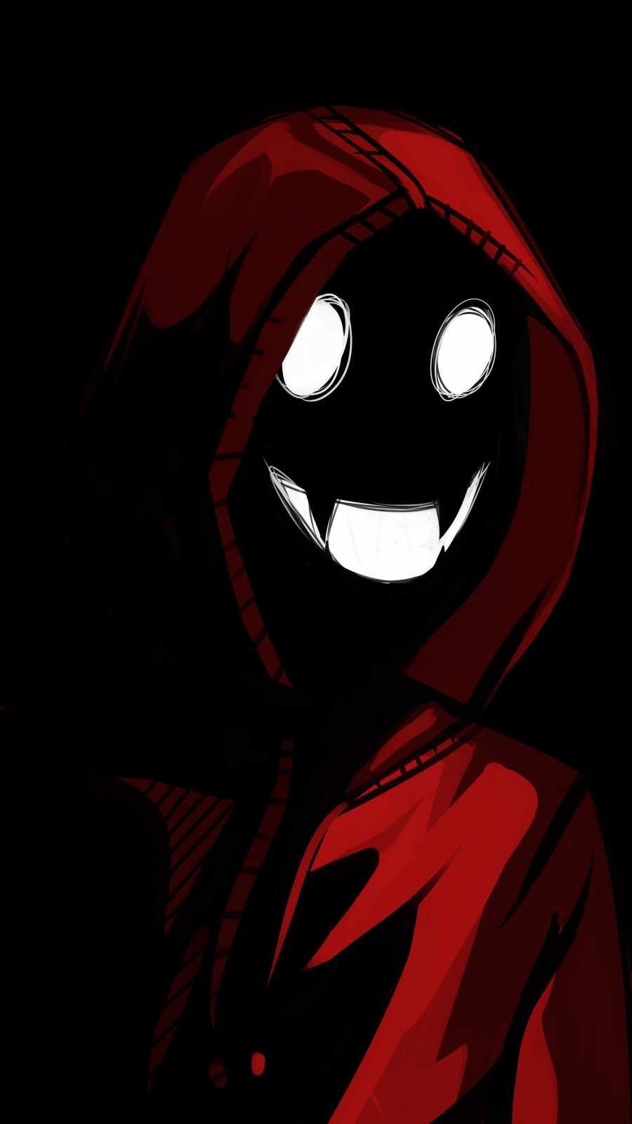 Hoodie Ghost Smile
