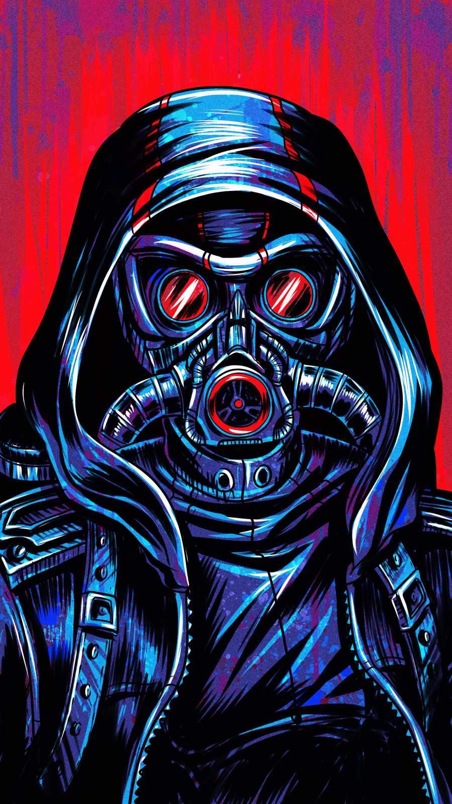 Hoodie Toxic Mask Guy