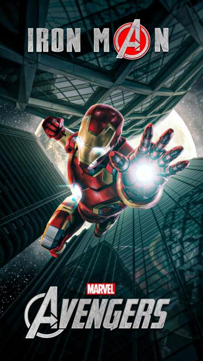 Iron Man Avengers iPhone Wallpaper