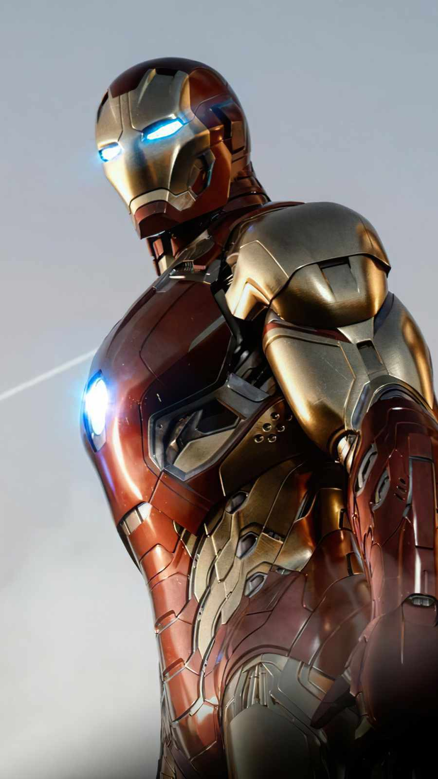 Iron Man Suit iPhone Wallpaper