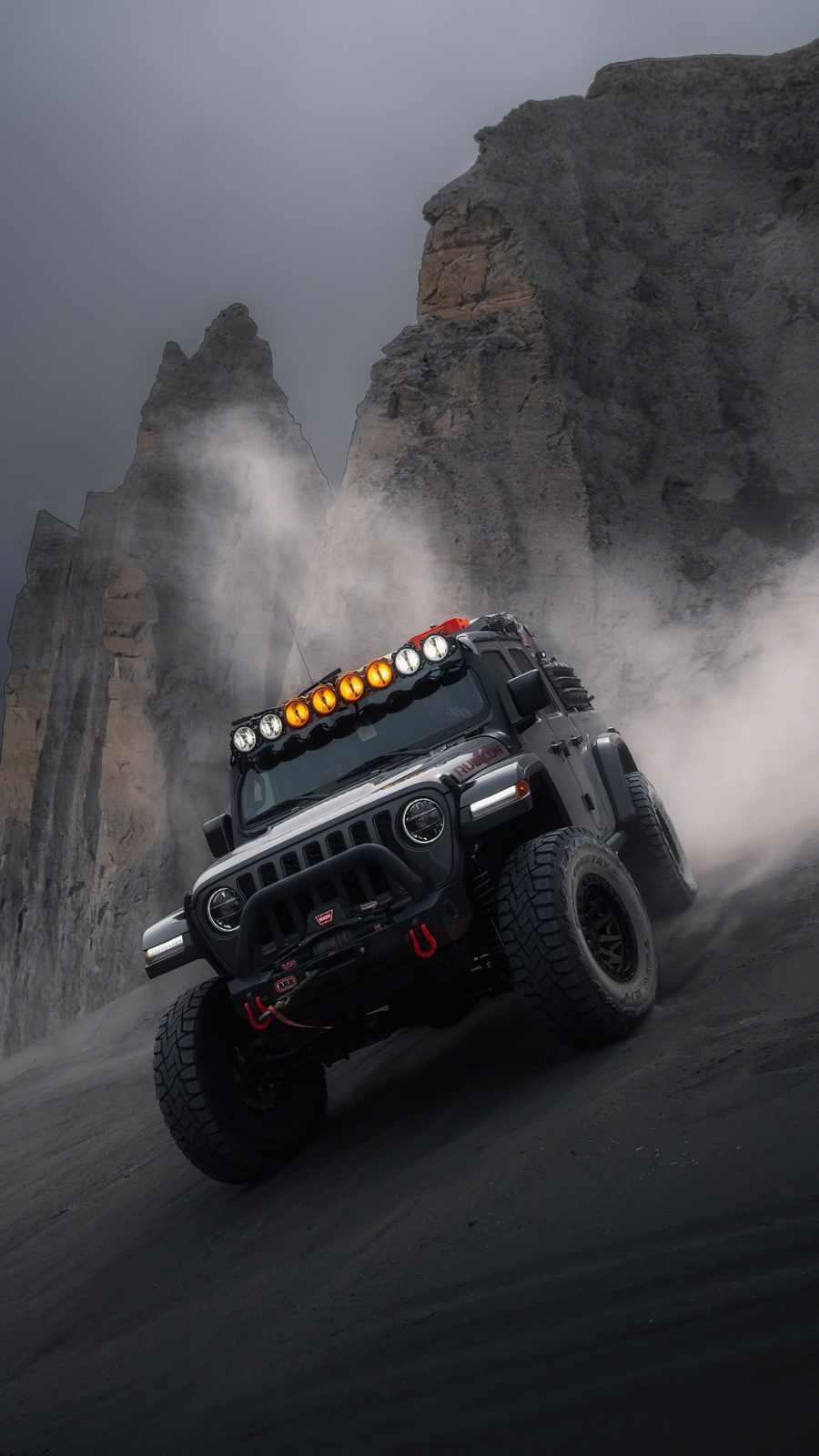 Jeep Wrangler Rubicon iPhone Wallpaper