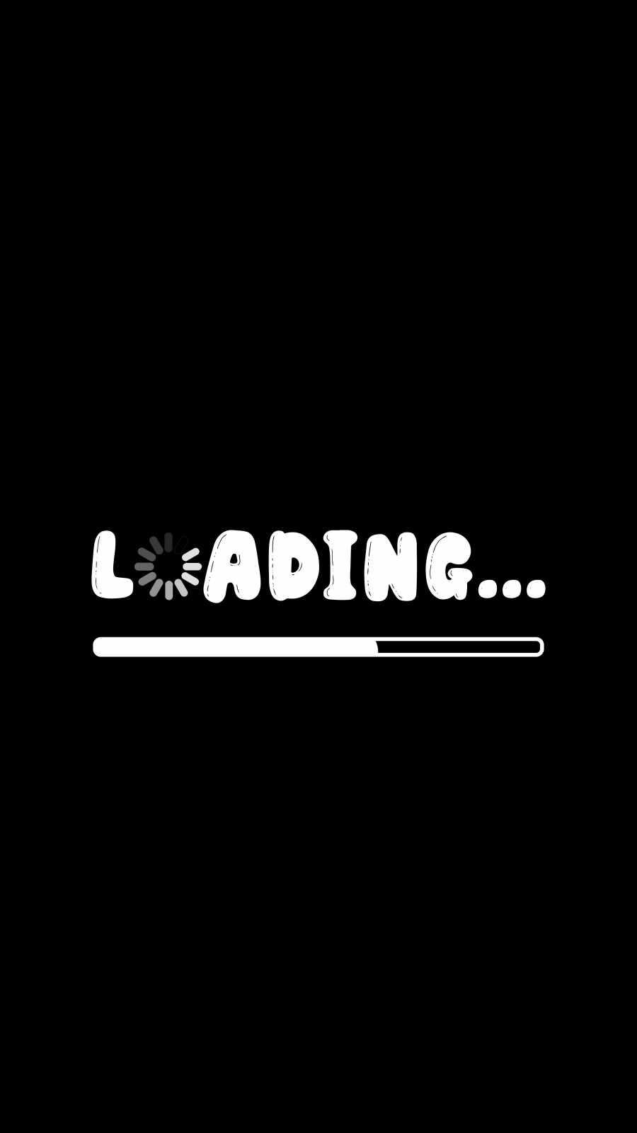 Loading iPhone Wallpaper