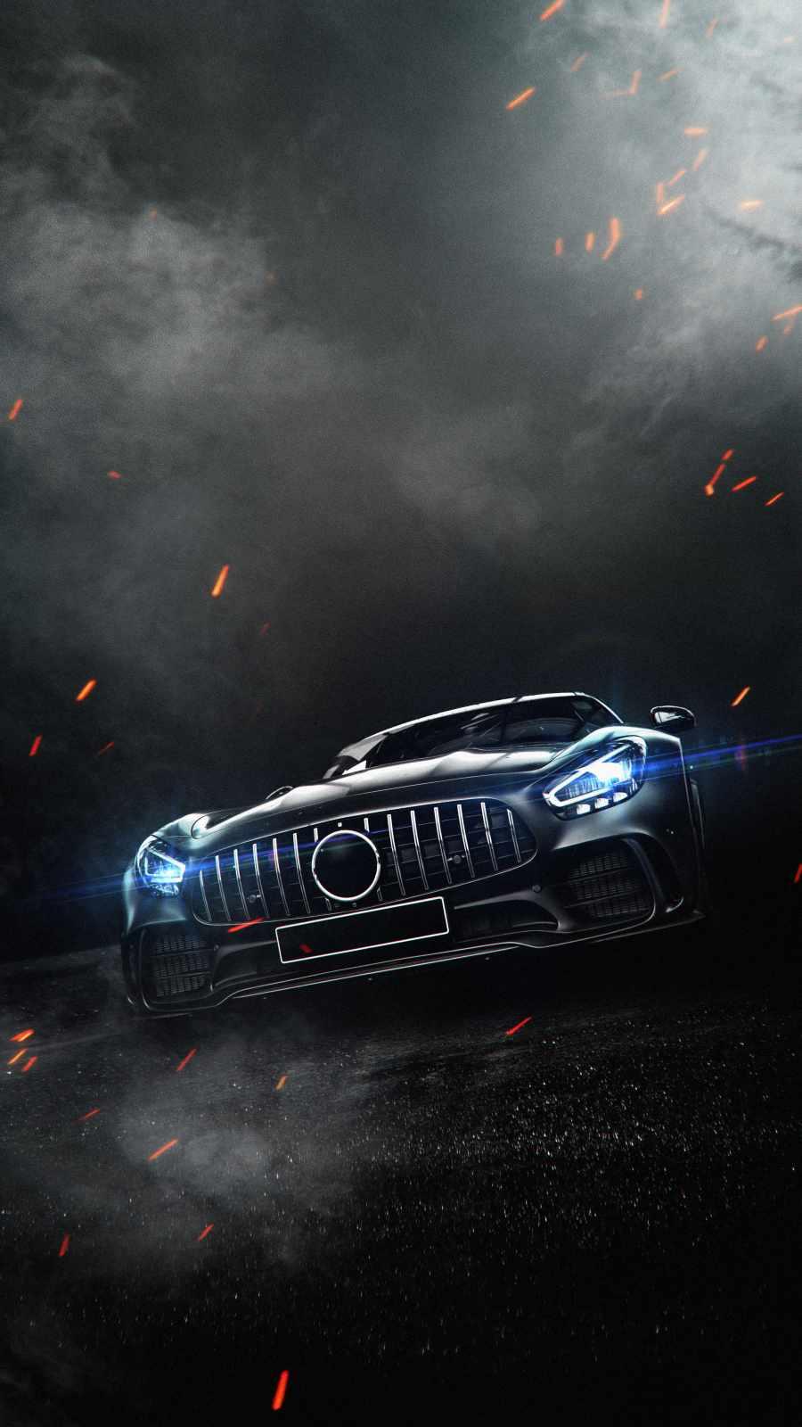 Mercedes AMG GT iPhone Wallpaper