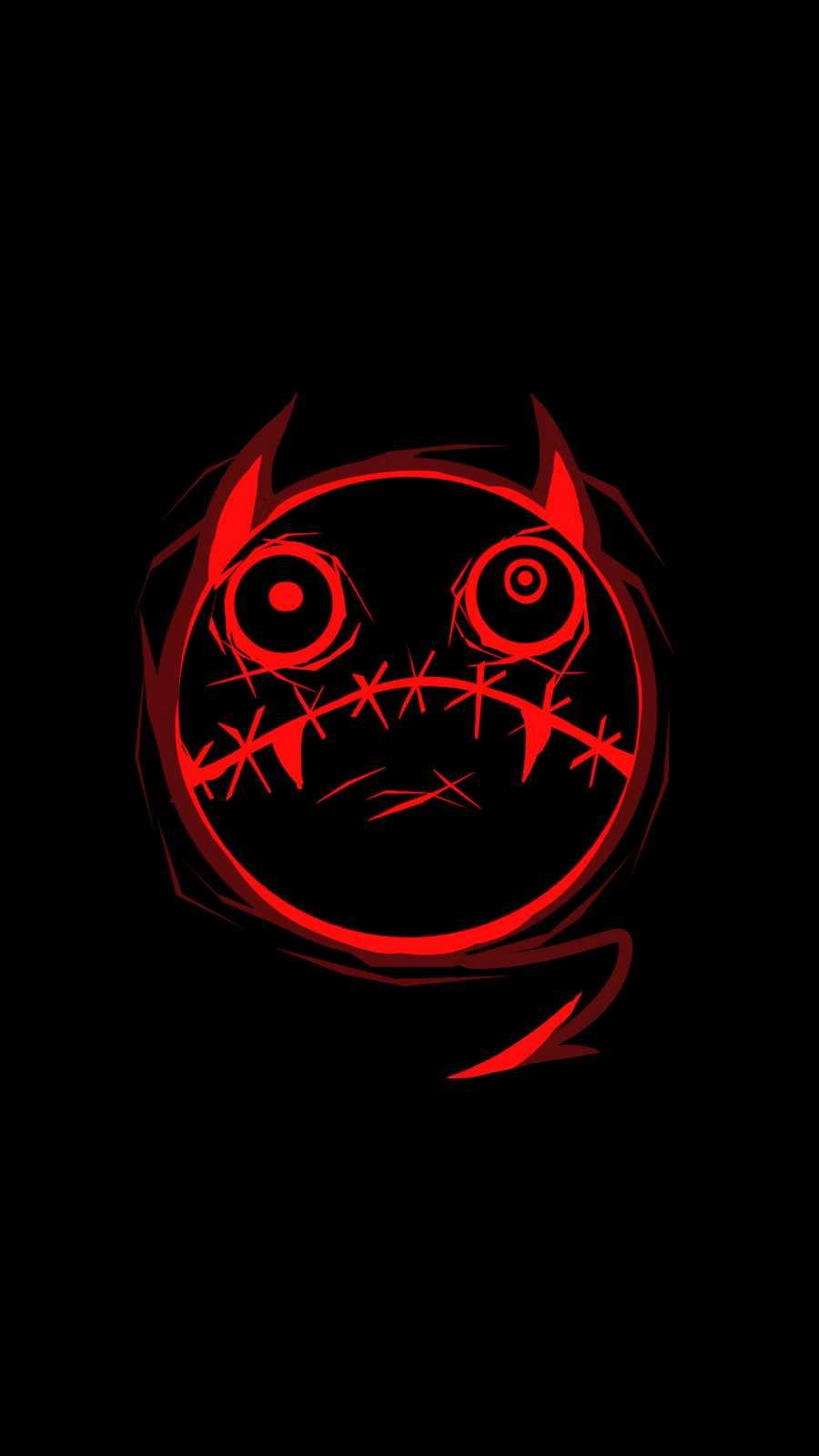 Monster Face iPhone Wallpaper