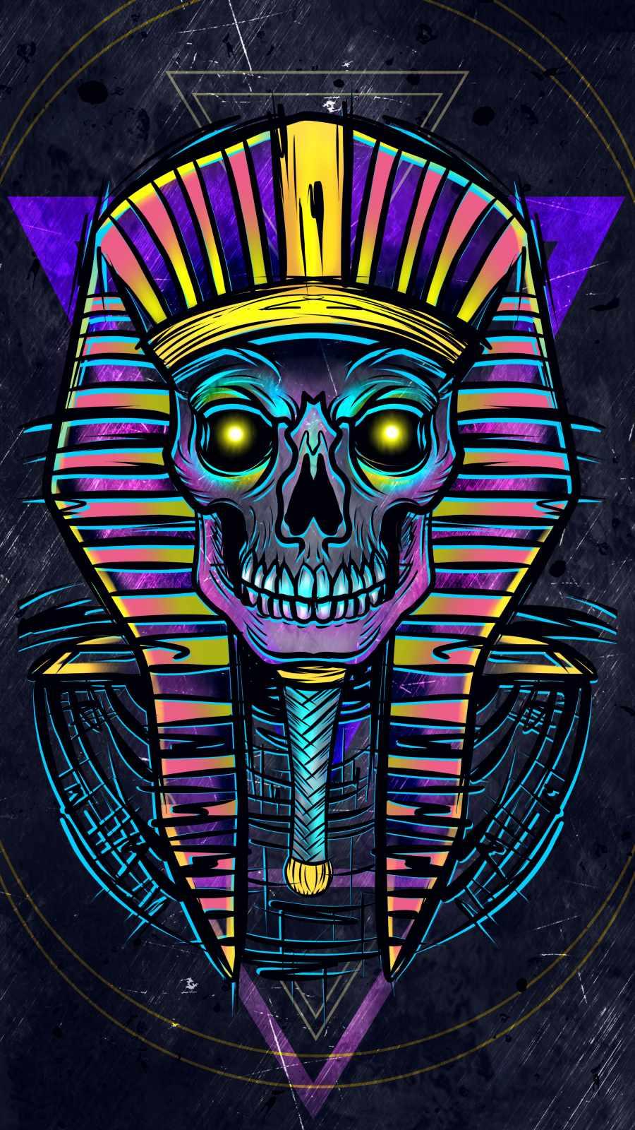 Mummy King iPhone Wallpaper