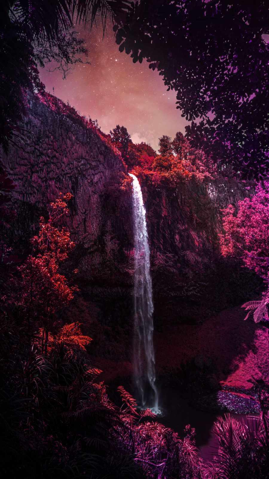 Nature Waterfall iPhone Wallpaper