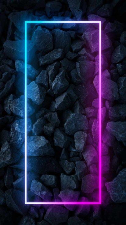 Neon Glow Stones