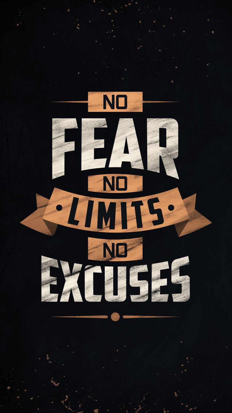 No Fear No Limits No Excuses