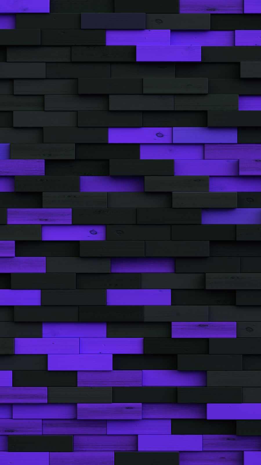 Purple Wood Bricks