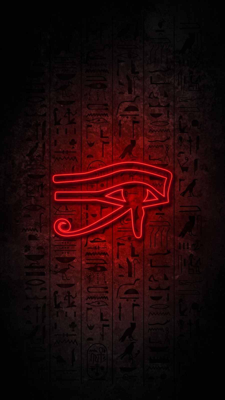 Pyramid Art iPhone Wallpaper